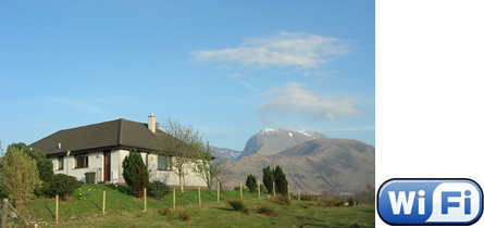 Lapwing Rise - Self Catering near Fort William Scotland